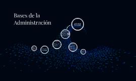 Copy of Administración Deportiva y Recreativa, Las Bases