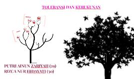 Copy of Copy of TOLERANSI DAN KERUKUNAN SEBAGAI ALAT PEMERSATU BANGSA