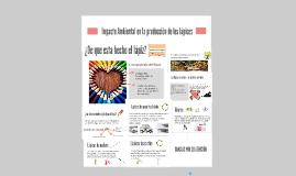 Copy of Impacto Ambiental en la producción de los lápices