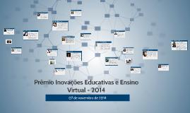 Prêmio Inovações Educativas e Ensino Virtual