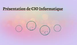 Présentation de CIO Informatique