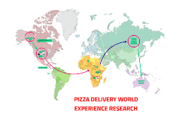 PIZZA DELIVERY WORLD EXPERIENCE RESEARCH