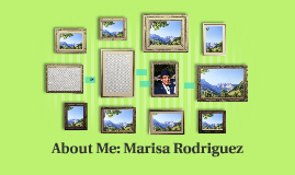 About Me: Marisa Rodriguez