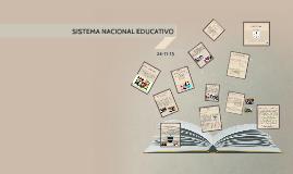 SISTEMA NACIONAL EDUCATIVO