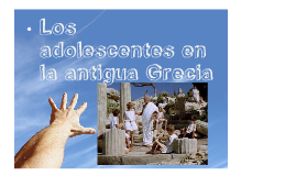 Los Adolescentes En La Grecia Antigua