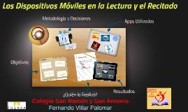 Los Dispositivos Móviles en La Lectura y el Recitado