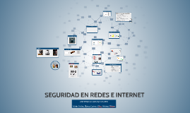 SEGURIDAD EN REDES E INTERNET