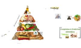 Copy of Pirámide alimenticia