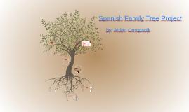 Copy of Spanish Family Tree Project