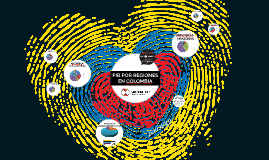 PIB DE LAS REGIONES DE COLOMBIA