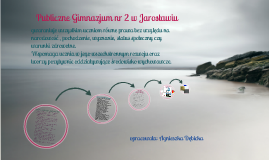 Publiczne Gimnazjum nr 2 w Jarosławiu