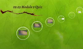 09.03 Module 9 Quiz