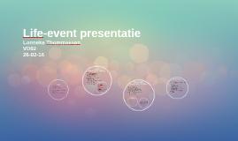 Life-event presentatie