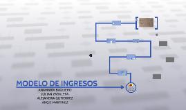 MODELO DE INGRESOS