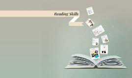 Copy of Reading Skills
