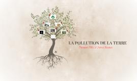 LA POLLUTION DE LA TERRE