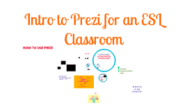 Intro to Prezi for an ESL Classroom