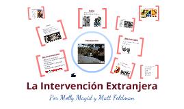 La intervención extranjera en la guerra civil de España