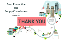 Food Production and Supply Chain Issues