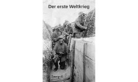 Copy of Der erste Weltkrieg