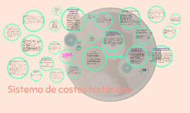 Sistema de costos históricos
