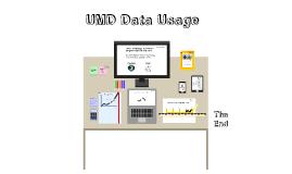 UMD Data Usage