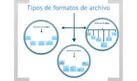TIPOS DE ARCHIVOS/EXTENSIONES