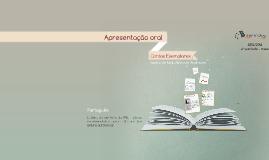 Copy of  Apresentação oral