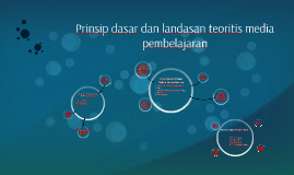 Prinsip dasar dan landasan teoritis media pembelajaran