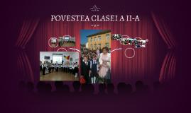 POVESTEA CLASEI A II-A