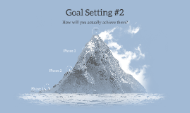 Goal Setting #2