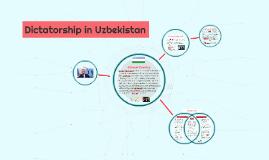 Dictatorship in Uzbeckistan