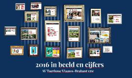 Toerisme 2016 in beeld en cijfers