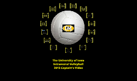 The University of Iowa Intramural Volleyball 2013 Captain's Video