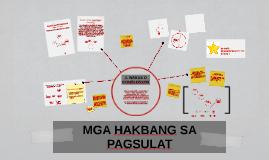 Copy of Copy of MGA HAKBANG SA PAGSULAT