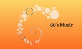 60's Music
