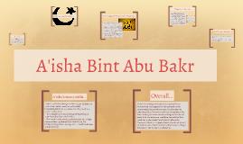 A'isha Bint Abu Bakr
