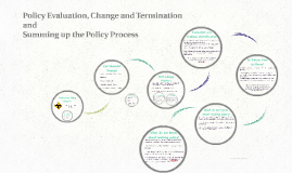 Policy Evaluation, Change and Termination
