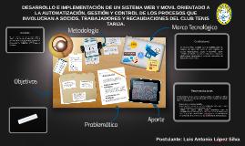 DESARROLLO E IMPLEMENTACIÓN DE UN SISTEMA WEB ORIENTADO A LA