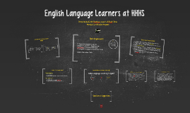 English Language Learners at HHHS