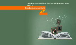 English presentations