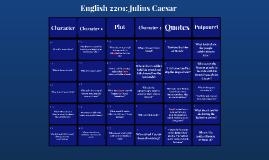 Julius Caesar 2201 - Jeopardy