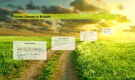 Social Classes in Britain