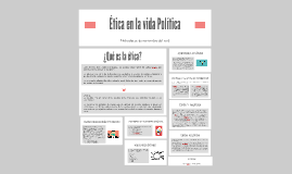 Ética en la vida Política