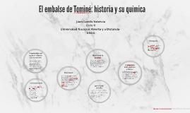 El embalse de Tominé: historia y su química