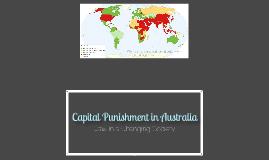 Capital Punishment in Australia
