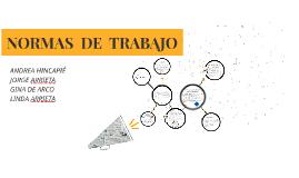 NORMAS  DE  TRABAJO