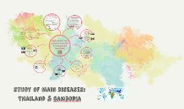 Causas de mortalidad: Tailandi y cambodia