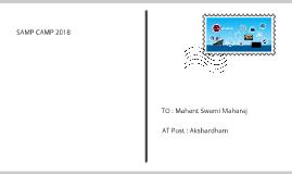 SAMP CAMP 2018