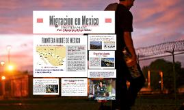 MIGRACIÓN FRONTERA NORTE